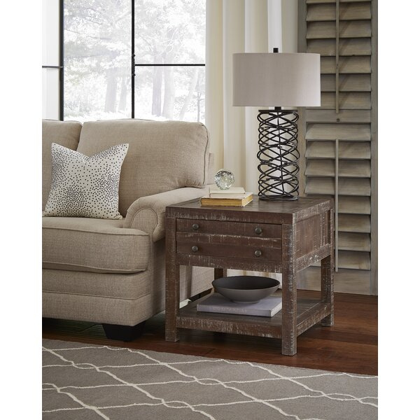 Stansbury Solid Wood End Table By Trent Austin Design
