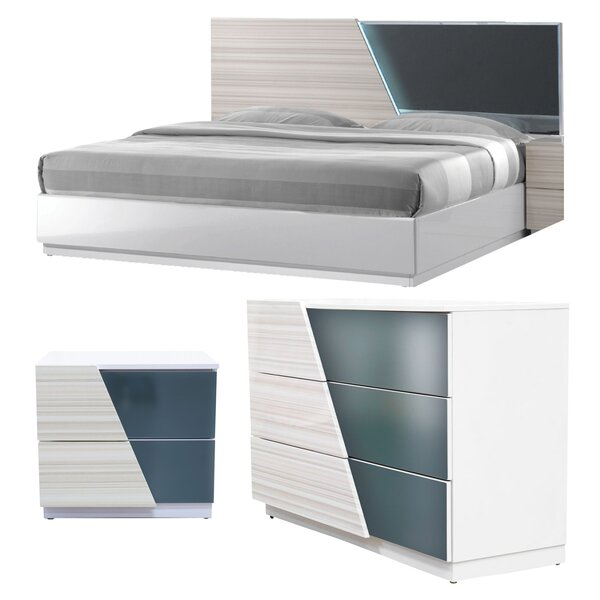 Nikhat Platform Configurable Bedroom Set by Orren Ellis