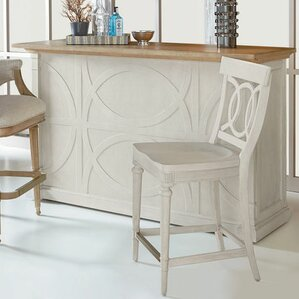 Carrie Mobile Workstation Pub Table by One Allium Way