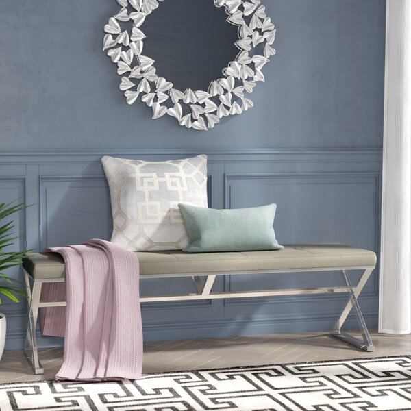 Brucknell Upholstered Bench by Willa Arlo Interiors