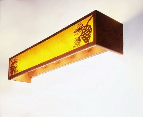 Pinecone 6-Light Vanity Wall Sconce by Steel Partners
