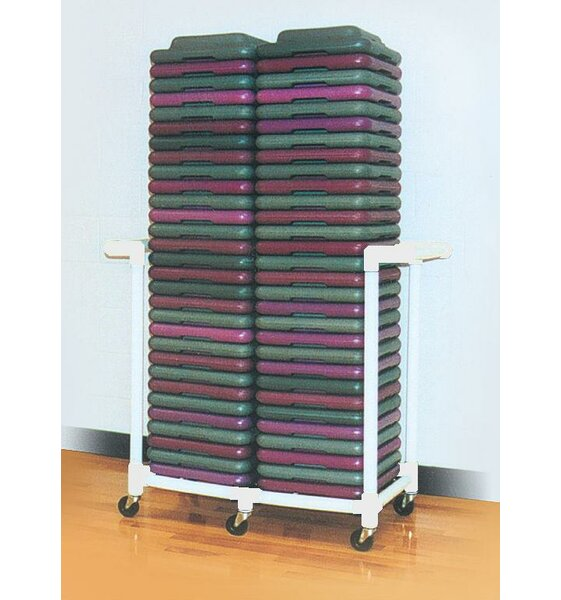 Health Club Step Riser Utility Cart by Duracart
