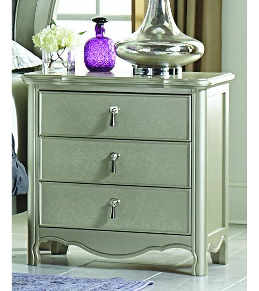 Renato 3 Drawer Nightstand by Willa Arlo Interiors