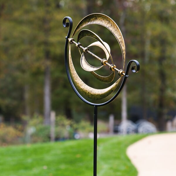 Idell Interplanetary Kinetic Garden Stake by Evergreen Enterprises, Inc