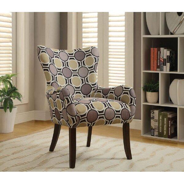 Carnfunnock Fabric Wingback Chair by Latitude Run