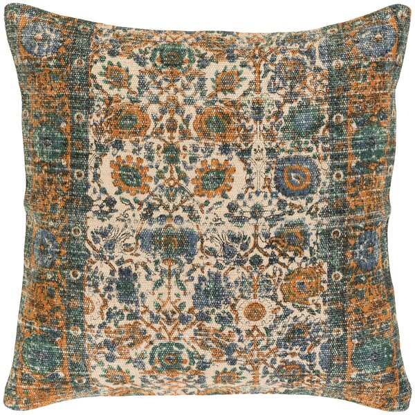 Shadi Distressed Pillow Cover by Surya