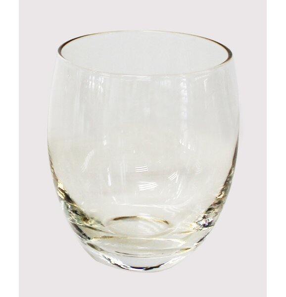 Old Fashion Glass Set (Set of 4) by Euro Ceramica