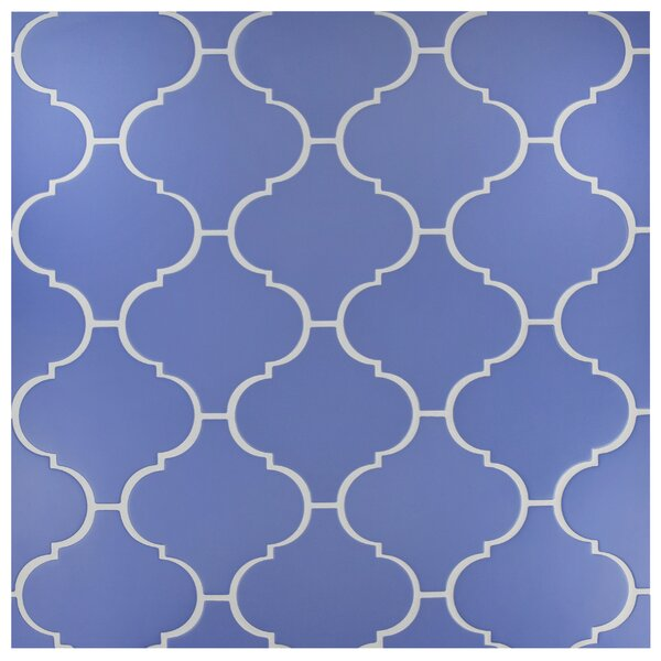 Beacon 8 x 8 Porcelain Mosaic Tile in Blue by EliteTile