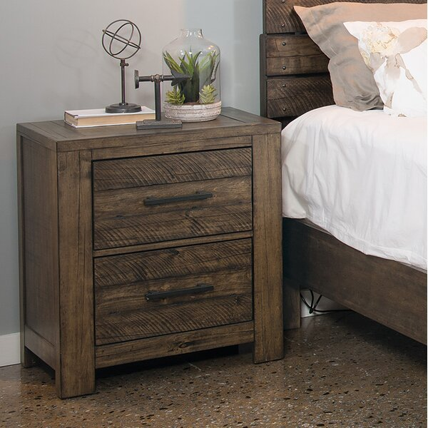 Emst 2 Drawer Nightstand by 17 Stories