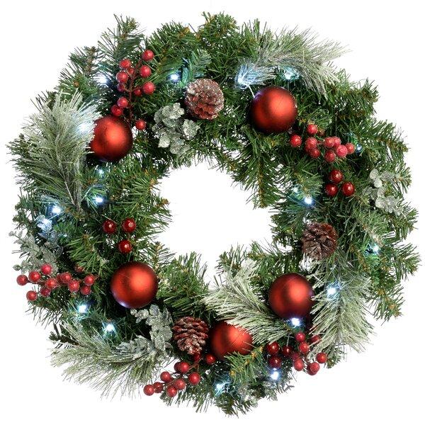 Christmas Wreath.Wreaths You Ll Love Wayfair Co Uk