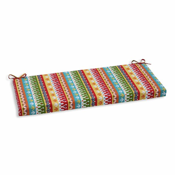 Wash Indoor/Outdoor Bench Cushion by Bungalow Rose