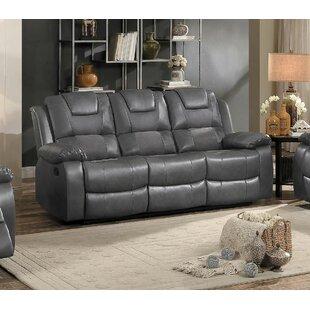 Duane Upholstered Dual Recliner Sofa