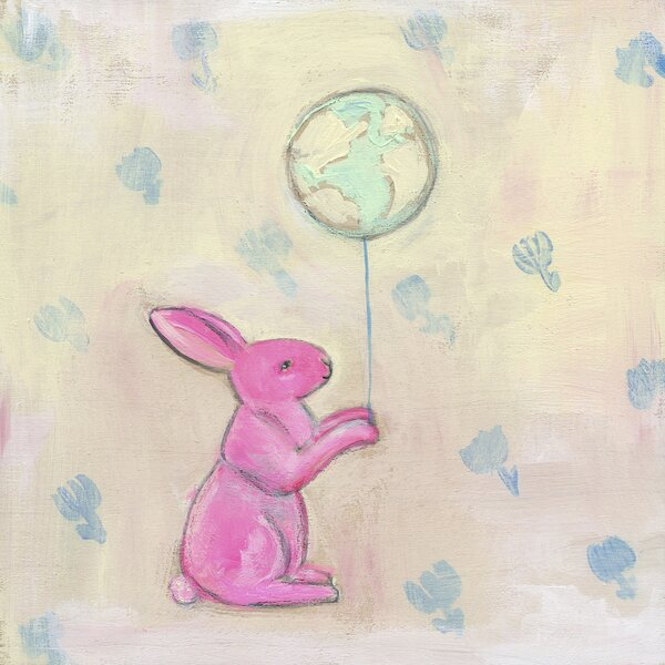Cadell World On A String by Creative Thursday by Marisa Canvas Art by Harriet Bee