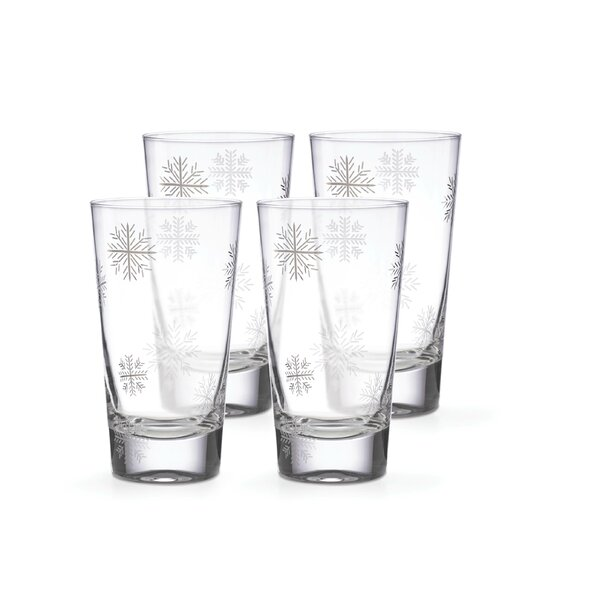 Alpine 16 oz. Glass Highball Glass (Set of 4) by Lenox