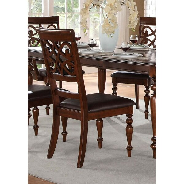 Grand Canyon Solid Wood Dining Chair by Fleur De Lis Living