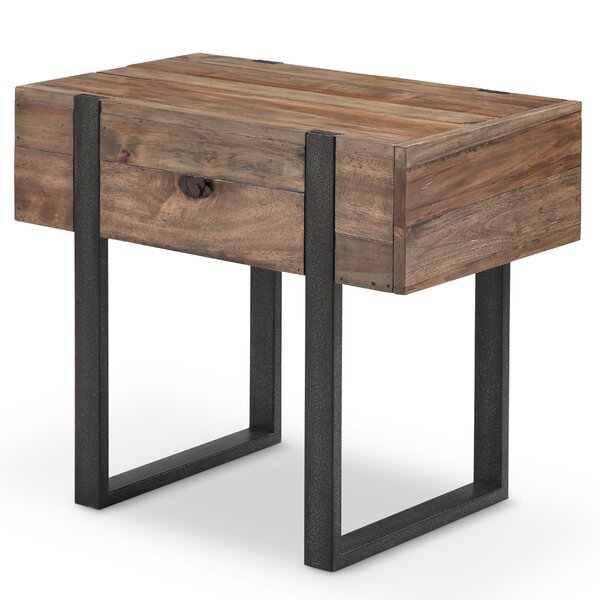 Sharri Modern End Table by Union Rustic