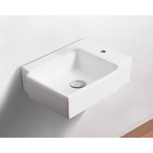 Check Prices Ceramic 17 Wall Mount Bathroom Sink By Royal Purple Bath Kitchen