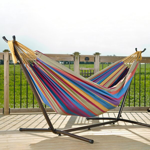 Dorinda Double Classic Hammock With Stand By Beachcrest Home