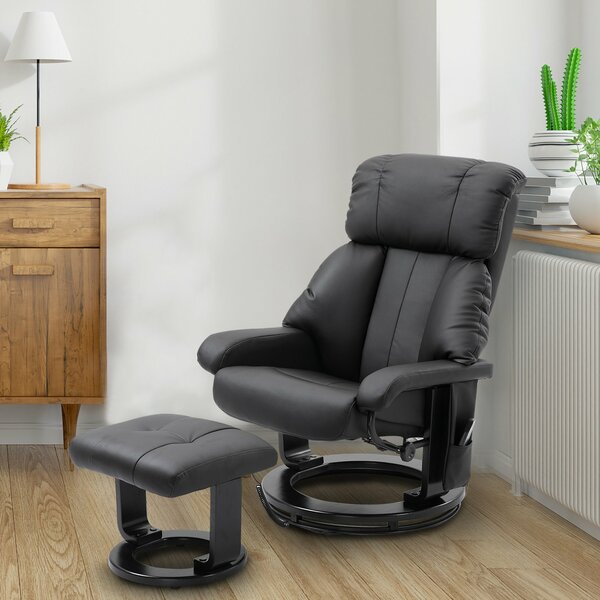Free S&H Reclining Massage Chair With Ottoman