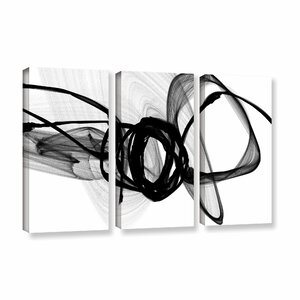 That Energy 3 Piece Graphic Art on Wrapped Canvas Set by Wade Logan