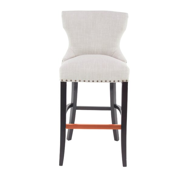 Aahil Eclectic Wingback 29 Bar Stool by Alcott Hill