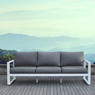 Baltic Patio Sofa With Cushions