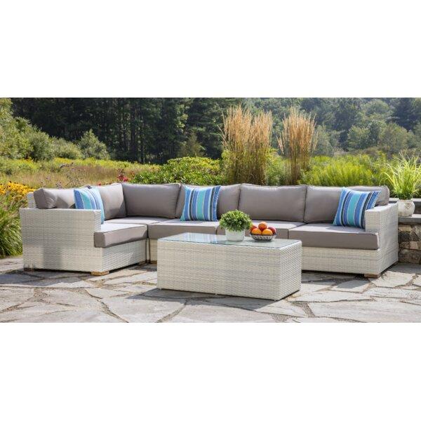 Mykonos 5 Piece Conversation Set with Cushions by Madbury Road