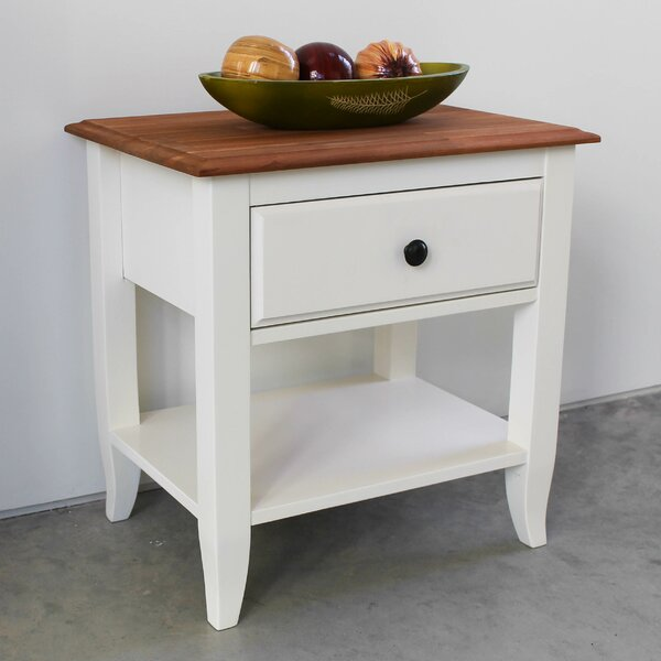 Tyrone End Table With Storage By August Grove
