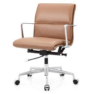 modern contemporary vegan leather office chair allmodern