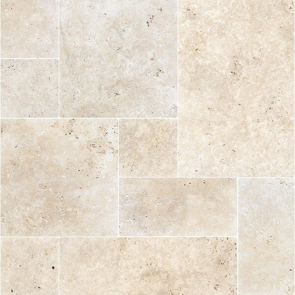 Random Sized Travertine Field Tile in Ivory by Parvatile