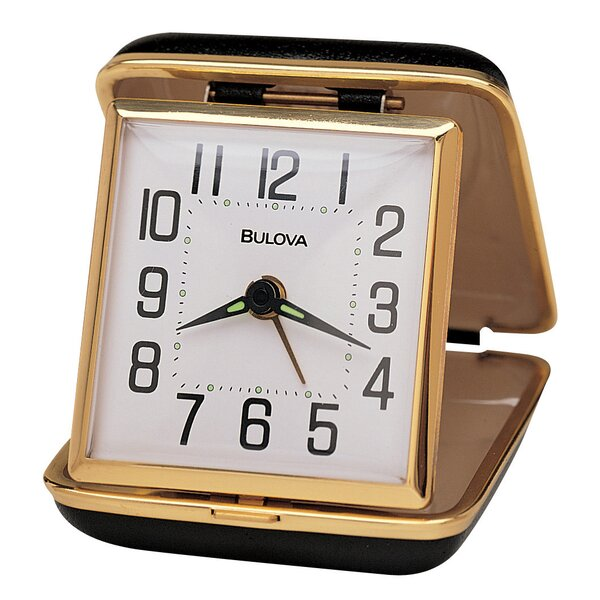 Reliable II Travel Clock by Bulova