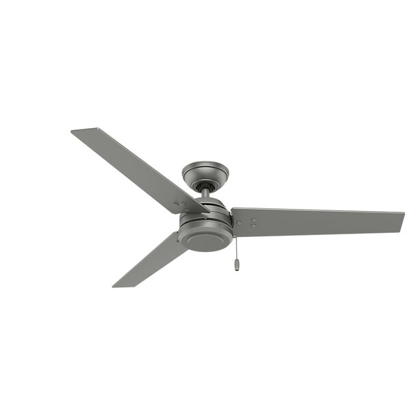 52 Cassius 3-Blade Ceiling Fan by Hunter Fan