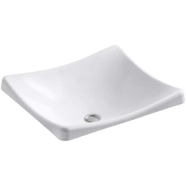 DemiLav Metal Specialty Vessel Bathroom Sink by Kohler