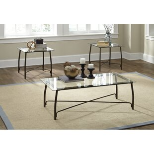 Mabrey 3 Piece Coffee Table Set by Zipcode Design