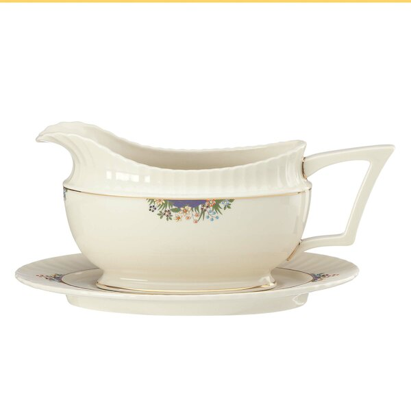 Rutledge Gravy Boat by Lenox
