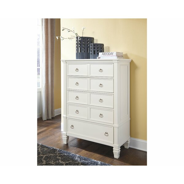 Jalyn 5 Drawer Chest by Gracie Oaks