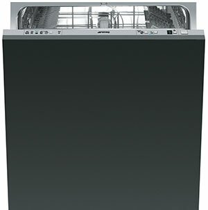 24 49 dBA Built-in Dishwasher by SMEG