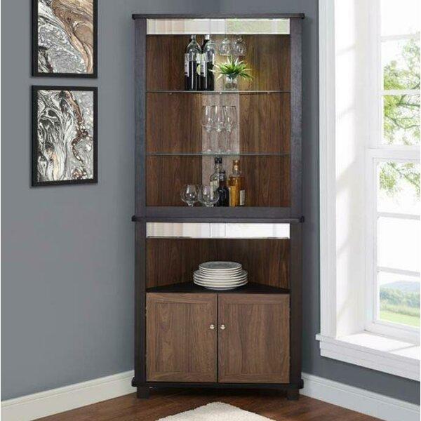 Highwoods Bar Cabinet by Charlton Home
