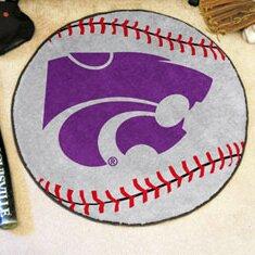 NCAA Kansas State University Baseball Mat by FANMATS