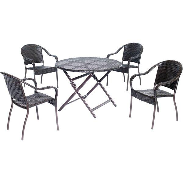 Innsbrook 5 Piece Dining Set by Alcott Hill