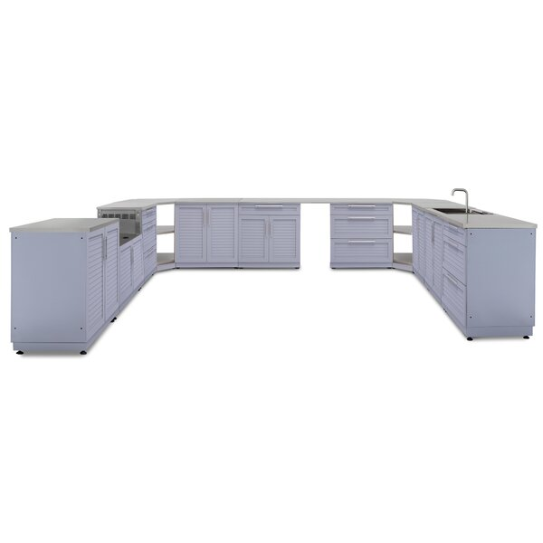 @ Kitchen 17 Piece Outdoor Bar Center Set by NewAge Products| #$9,599.99!
