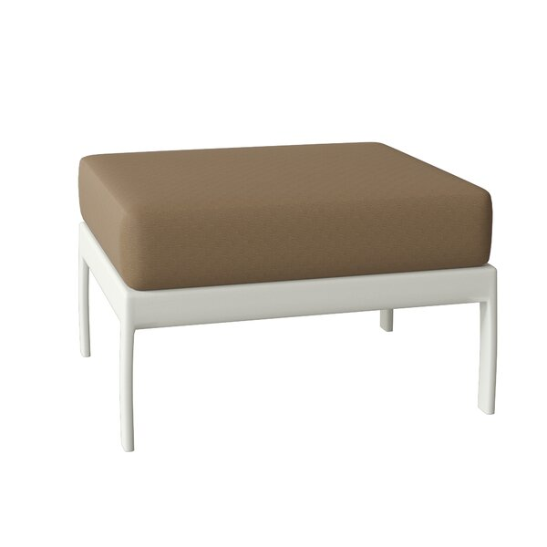 South Beach Ottoman with Cushion by Tropitone