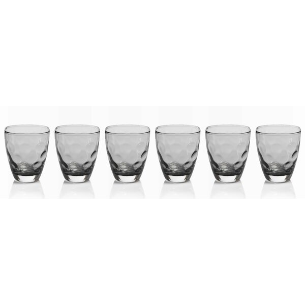 Maclean Rocks Glass (Set of 6) by Brayden Studio