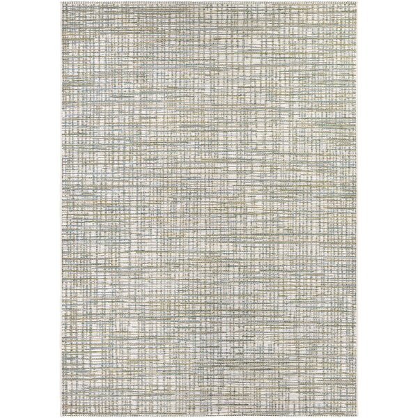 Whitney Ivory/Hunter Indoor/Outdoor Area Rug by Charlton Home