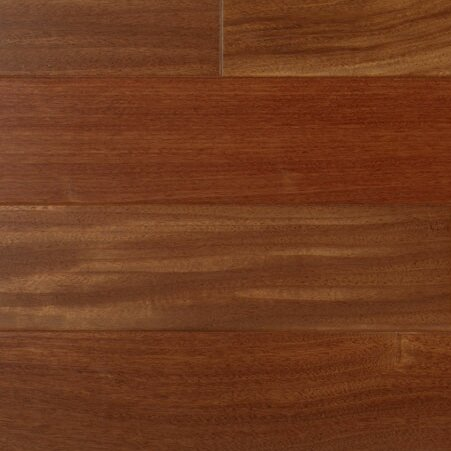 3 Engineered Santos Mahogany Hardwood Flooring in Brown by IndusParquet