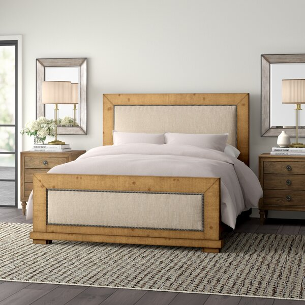 Castagnier Upholstered Standard Bed by Lark Manor