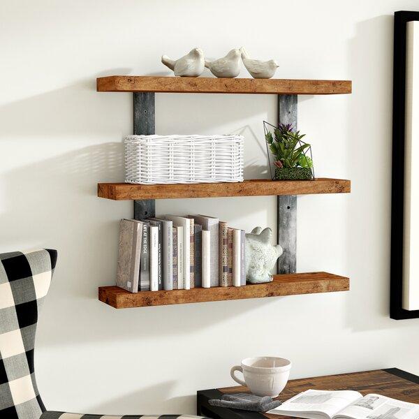 gracie oaks pratik industrial 3 tier wall shelf reviews wayfair rh wayfair com 3 tier wall shelf for candles 3 tier wall shelf ikea
