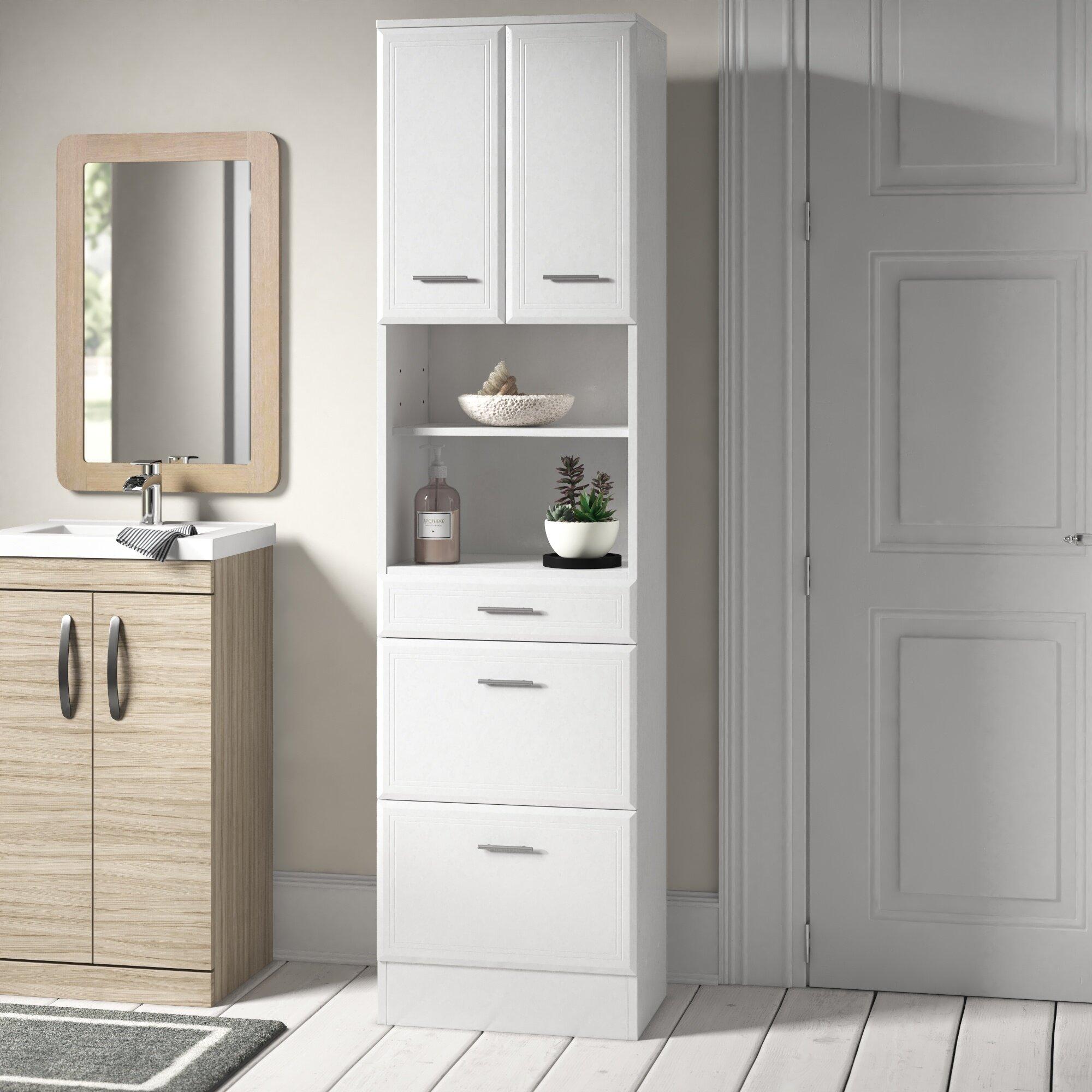 Tysen 50 X 190cm Tall Bathroom Cabinet