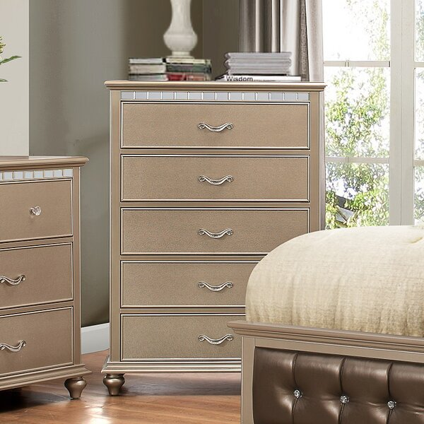 Reviews Almerton 5 Drawer Chest By Simmons Casegoods By Willa Arlo Interiors Today Only Sale