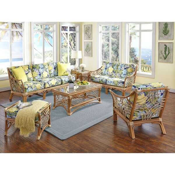 Rainey 6 Piece Living Room Set by Bayou Breeze